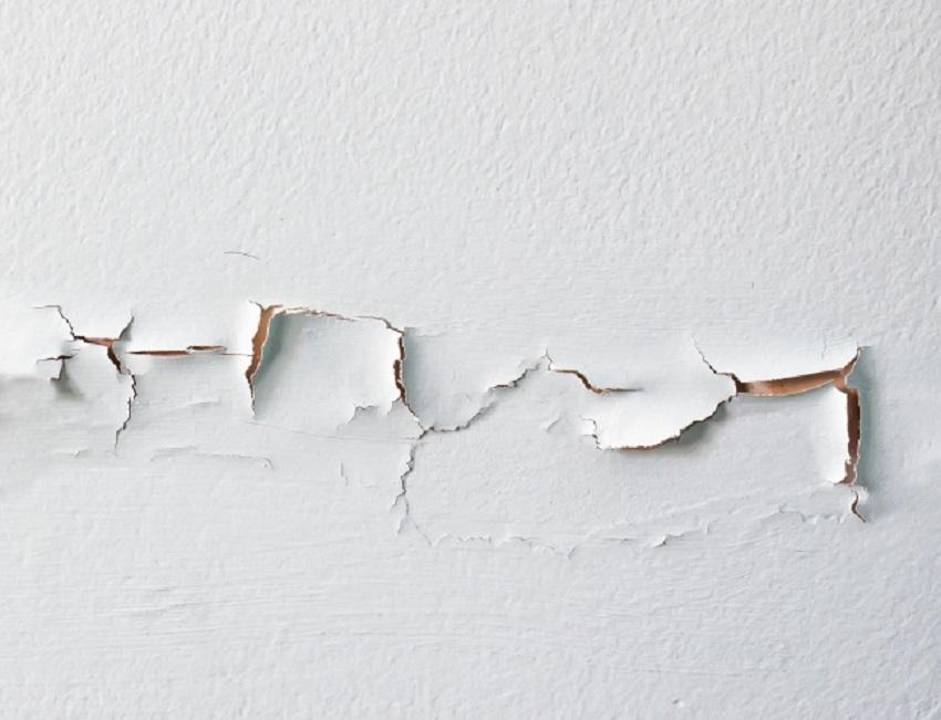 Esempio di parete scrostata da risanare